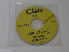 Schematics On CD Renault Clio - Stand 09/2004