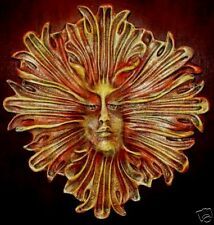 Stretched Fairy Face Large Plaque Wall Sculpture 10060