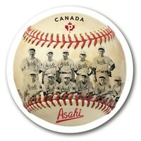 BASEBALL = ASAHI team = Vancouver = DIE CUT = Booklet stamp MNH-VF Canada 2019