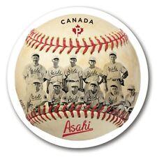 BASEBALL = ASAHI team = Vancouver = DIE CUT = Booklet stamp MNH-VF Canada 2019