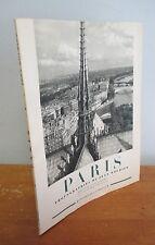PARIS Photographies De Jean Rubier, 1950 with 64 B&W Photos of Paris