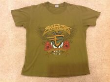 Vtg 1994 Xl Eagles Hell Freezes Over World Tour Green Concert T-Shirt