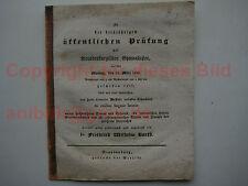 Brandenburg an der Havel Barth Heffter Gymnasium 1828 Saldria Gelehrtenschule