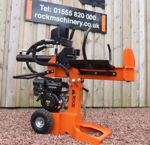 15ton Venom C-Series Petrol Log Splitter By Rock Machinery (New 2021 model)