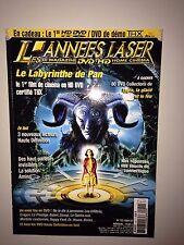 LES ANNEES LASER N°132 2007 LE LABYRINTHE DE PAN / INTERVIEW DIAM'S