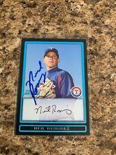 Neil Ramirez Signed 2009 Bowman Rc Auto Texas Rangers Chicago Cubs