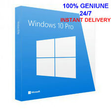 INSTANT WINDOWS 10 PROFESSIONAL PRO 32|64 BIT GENUINE ACTIVATION KEY LICENSE HF