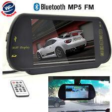 "CCD 7"" Car TFT LCD Color Bluetooth MP5/FM/USB Rear View Mirror Monitor Reversing"