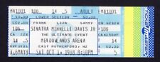 Original 1988 Frank Sinatra Sammy Davis Jr Liza Minnelli Unused Ticket NJ