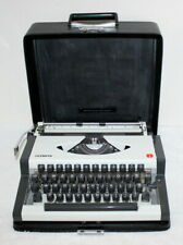 Vintage 1970's Olympia Portable Typewriter w/ Case ~ Made in Yugoslavia ~ Clean
