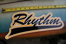 Rhythm Skateboards Baseball Logo Hip Hop Edm Z17 Vintage Skateboarding Sticker