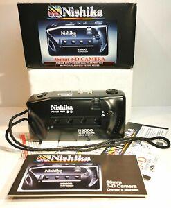 Nishika N9000 3D Kamera, Nishika, 3D, N9000, Quadra Lens System, 3D Kamera