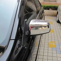Chrome Side Rearview Mirror Cover Trim For Mitsubishi Lancer Lancer EX 2008-2014