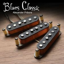Strat Pickup set fit Fender Stratocaster Blues Classic Hand wound pickups.