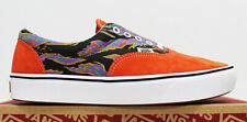 NIB VANS Men's Comfycush Era Orange Tiger-Camo Suede Low Top Sneakers Shoes