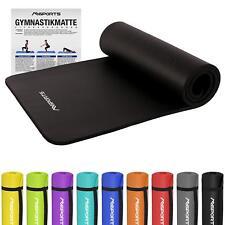 Gymnastikmatte Premium sehr weich - extra dick - 190 x 60 x 1,5 cm - Yoga