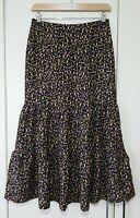 Redherring Women's Skirt Size 8 Rosebud Floral Boho Tier New with tags, Casual