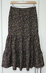 Redherring Boho Skirt Size 8 Rosebud Floral Tier New with tags Casual Women's