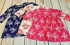 3 Old Navy Baby Girl Dresses 3-6 months 6-12 months