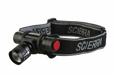 SCIERRA HEADLAMP FLY FISHING TROUT SALMON SPEYCASTING CAP NIGHT LIGHT WATERPROOF