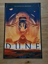 Dune    Matt Griffin   Alternative Movie Poster Regular  Screenprint   Nt Mondo