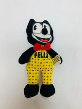 Felix the Cat Plush By Determined Products Small 5 Inch Plushie Stuffed Animal