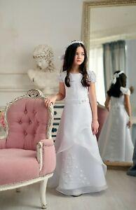 Kommunionkleid Festkleid Kommunionskleid Bolero - Jacke communion dress *Lea