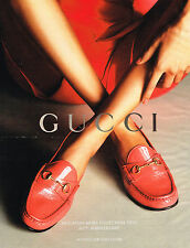PUBLICITE ADVERTISING 104  2013   GUCCI   chaussures mocassins