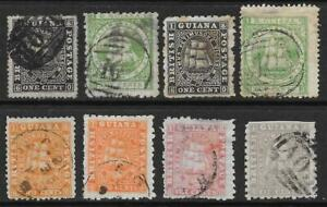 British Guiana Early Used Selection