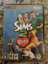 The Sims 2 Pets MAC Game Expansion Pack 2006 Complete NEW SEALED FREE S/H