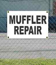 2x3 MUFFLER REPAIR Black & White Banner Sign NEW Discount Size & Price FREE SHIP