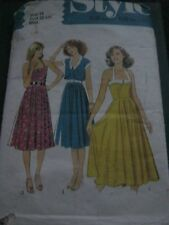 Style Adult Dress Sewing Patterns