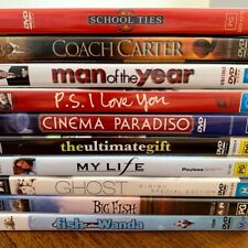Dvd Movies R4 - The Ultimate Gift, Cinema Paradiso, My Life - Sold Seperately