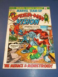 Marvel Team Up #5 Bronze age Spider-man Vision Fine Wow