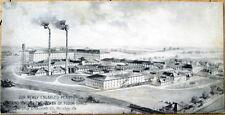1910 Postcard: Hershey Chocolate Company Factory - Hershey, Pennsylvania