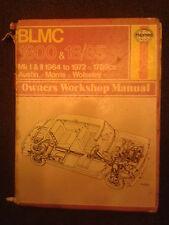 AUSTIN, MORRIS 1800 e Wolseley 18/85 Manuale Haynes
