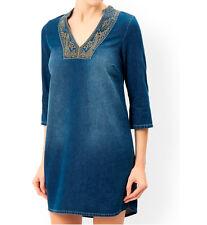 MONSOON Blue 73 Shola Blue Tunic Dress BNWT