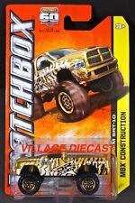 2013 Matchbox #47 Dodge Ram SRT-10 GOLD / DR SRT-10 / MOC