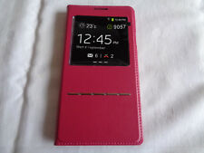 Huawei Handyhülle Mate 9057 / 5,9 Zoll Schutzhülle 14 x 7 cm Fenster Handyhüllen