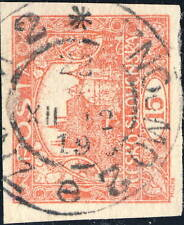 """TCHECOSLOVAQUIE / CZECHOSLOVAKIA 1919 """"ZNAIM 2*ZNOJMO 2 e"""" (V.2840-4b) /Mi.26Ua"""