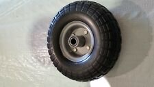 "3/4"" BORE 4.10/3.50-4"" FLAT-FREE HAND TRUCK DOLLY CART TIRE"