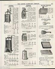 1939 ADVERT Dazey Glass 4 6 8 Quart Butter Churn Hand Power Crank