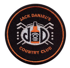Jack Daniels Country Club Old no 7 Drink Denim Jacket Biker Patch