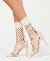 Designer Macy's International Concepts Women's 2-Pack Varsity Fishnet Anklet