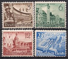 Germany Third Reich Mi# 739-742 MH Leipzig Fair 1940 * Complete Set