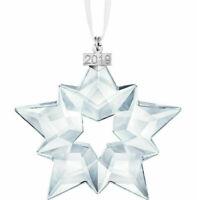 Genuine Swarovski Editions 2019 Christmas Crystal Ornament Large Snowflake Star