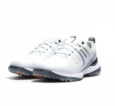 Men's Sqairz SPEED Golf Shoes in White/Silver