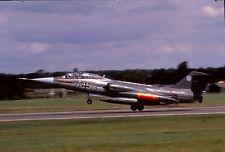 Duplicate colour slide TF-104G Starfighter 27+79 of MFG-2 German Navy