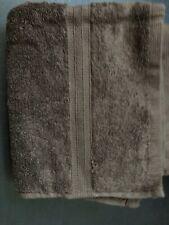 RALPH LAUREN CLASSIC BROWN HAND TOWEL 16 X 29 100% COTTON
