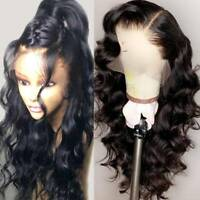 Pre Plucked Wavy Silk Top Full Lace Wigs Indian Virgin Human Hair Lace Front Wig